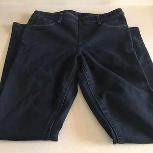 Jordache jean jeggings. Size 14/16